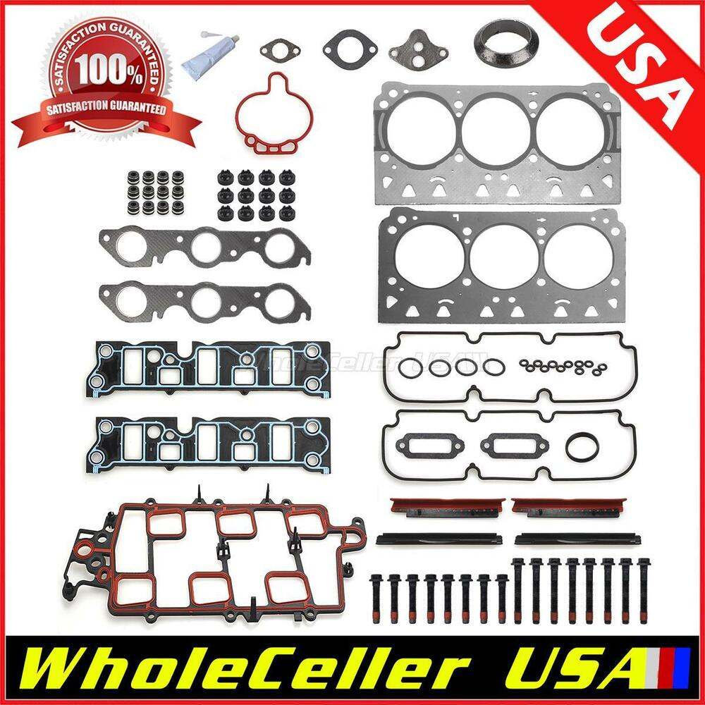 Head Gasket Kit Head Bolt For 97-05 Buick Chevy Oldsmobile
