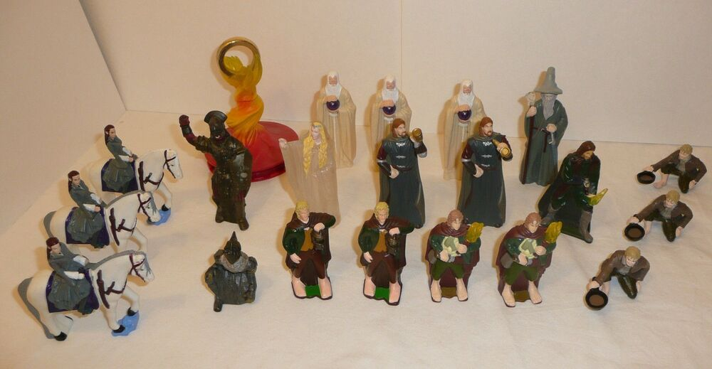 Burger King Lord Of The Rings Figures Ebay