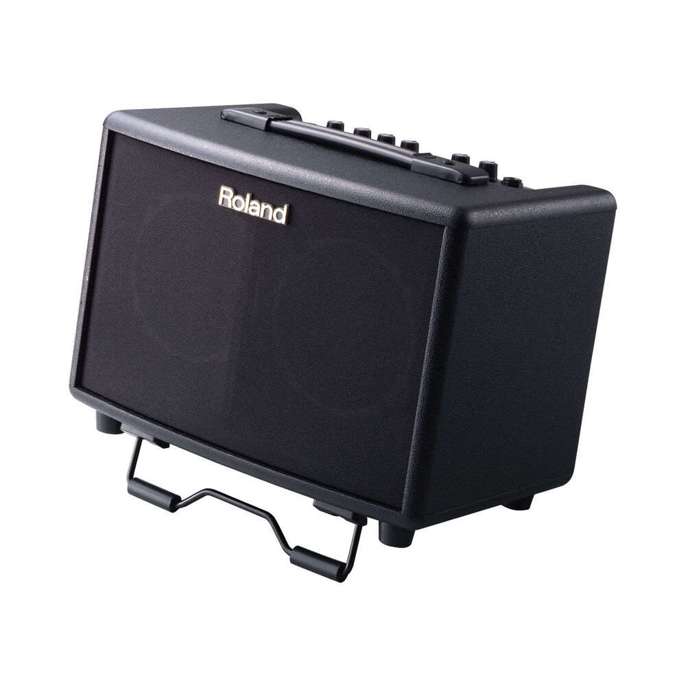 roland ac 33 battery powered stereo acoustic guitar combo amp in black 30 watts 4957054411350. Black Bedroom Furniture Sets. Home Design Ideas