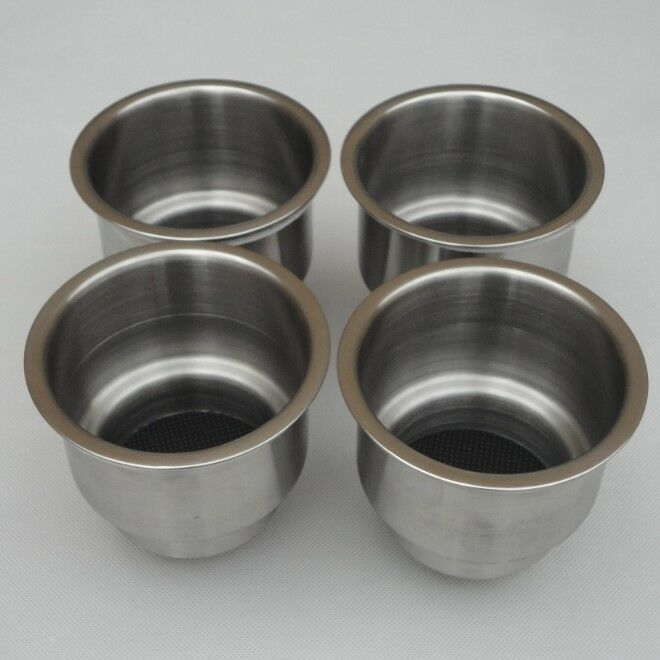 (4pcs)practical Stainless Steel Cup Drink Holder Marine