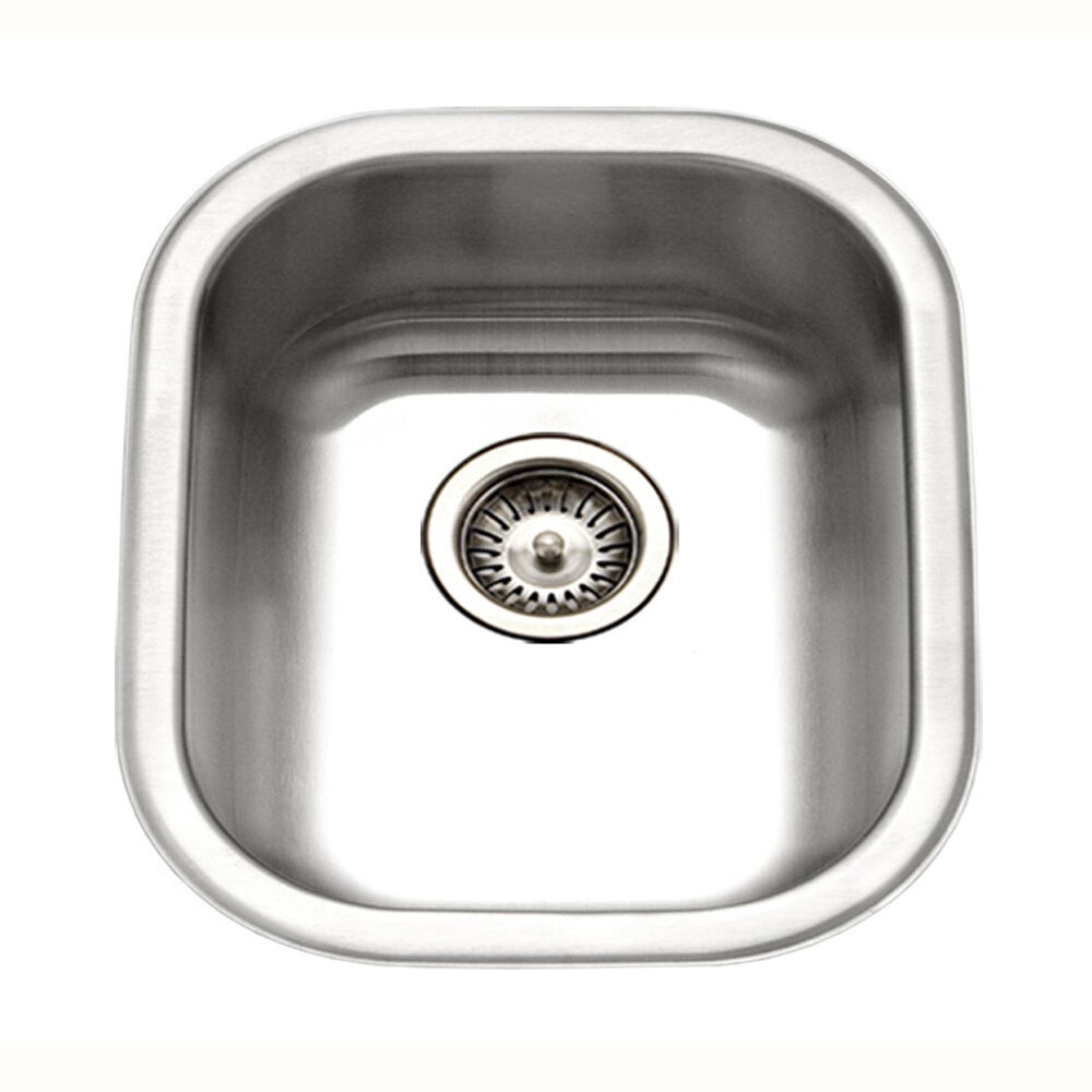 Dowell Sinks : Dowell 6001-1618A 18 Gauge Single Bowl Undermount Stainless Steel ...