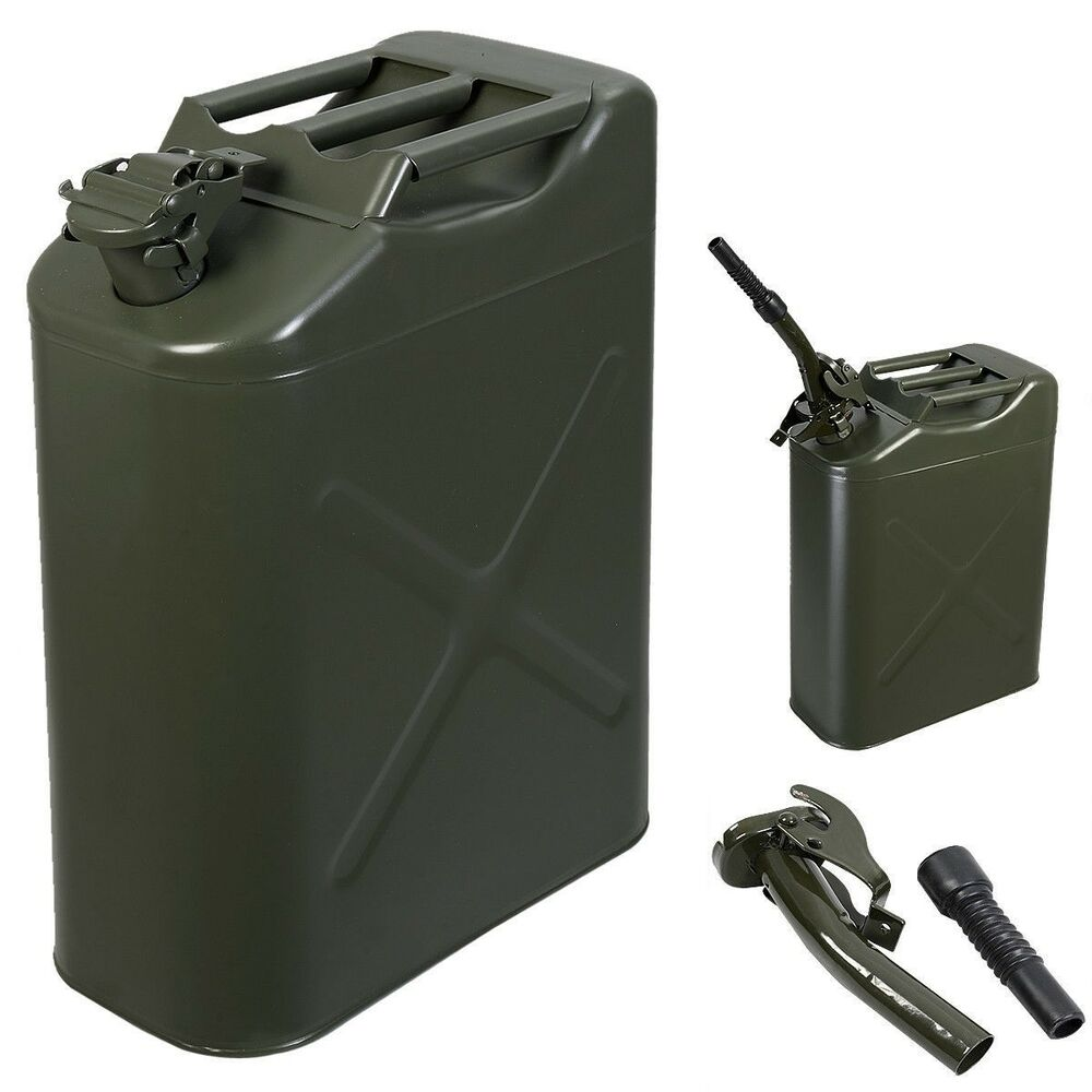 TOP 5 Gal 20L Jerry Can Gasoline Oil Fuel Can Gas Storage ...