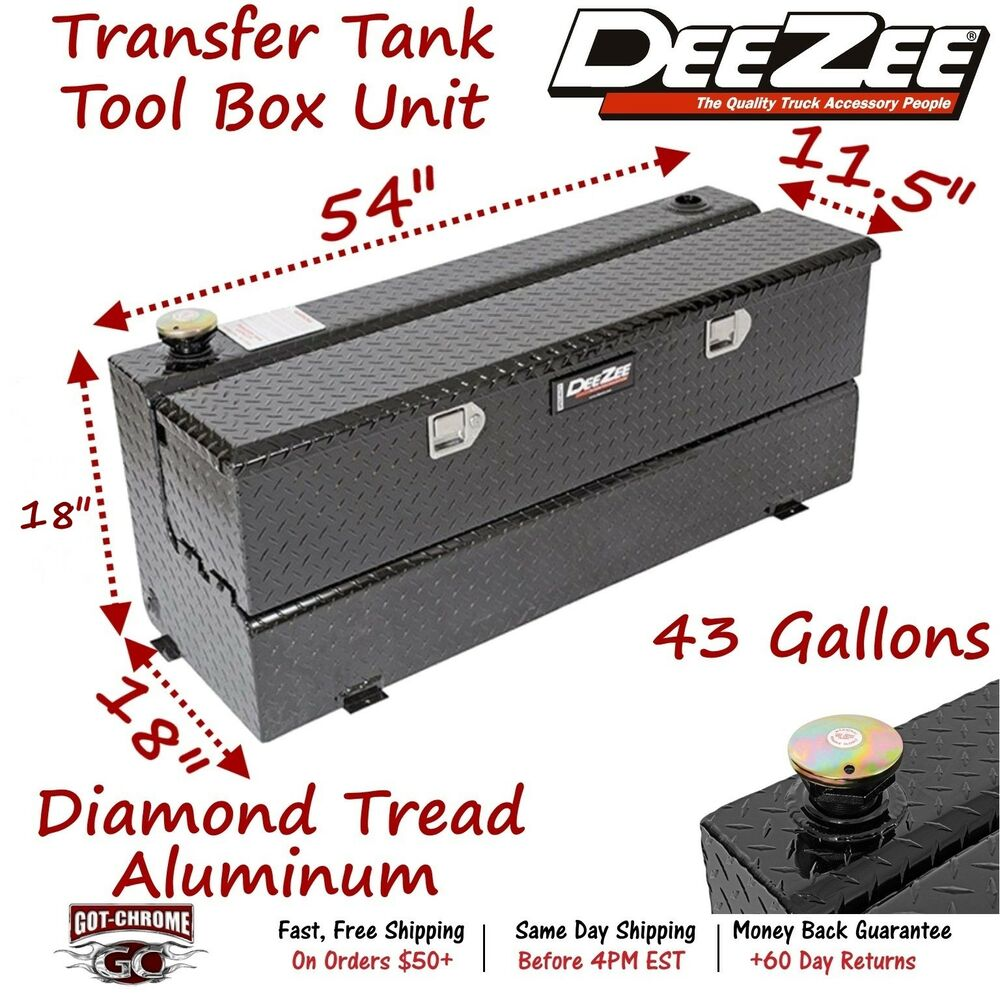 Truck Bed Fuel Tank