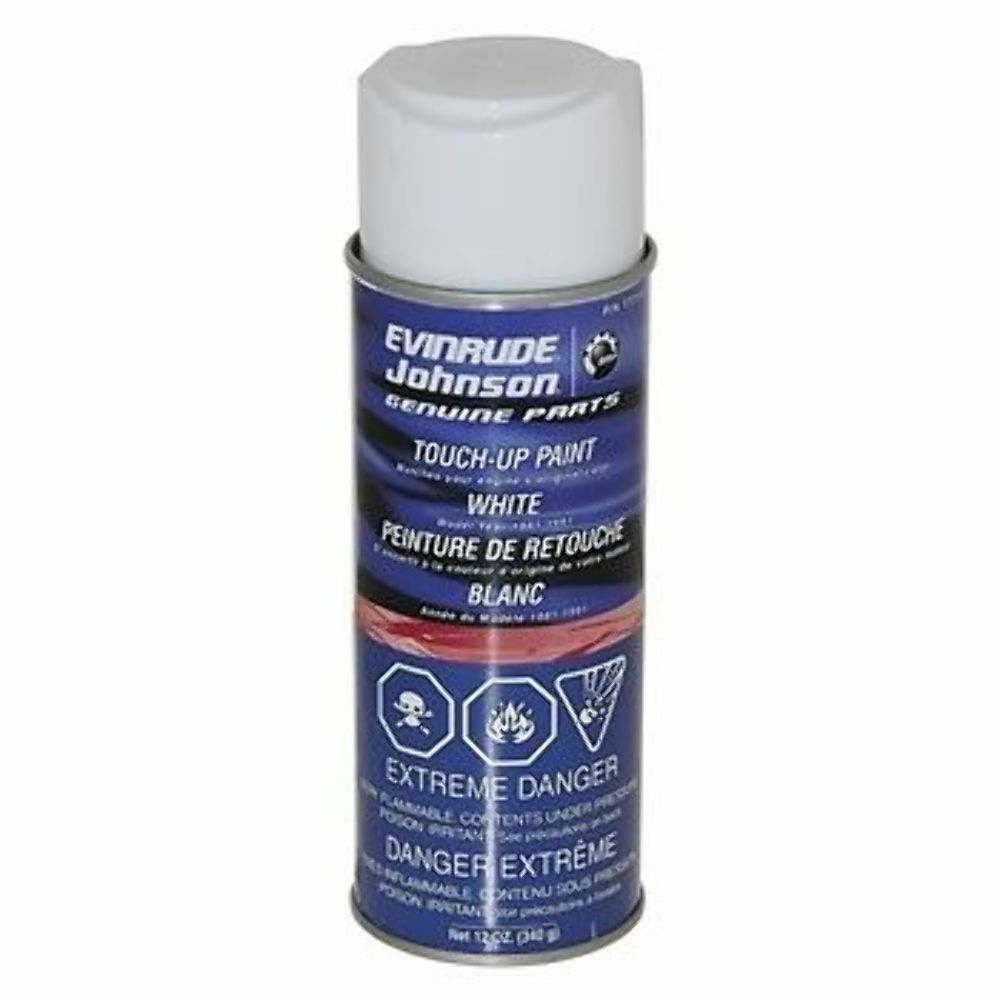 Evinrude Spray Paint White
