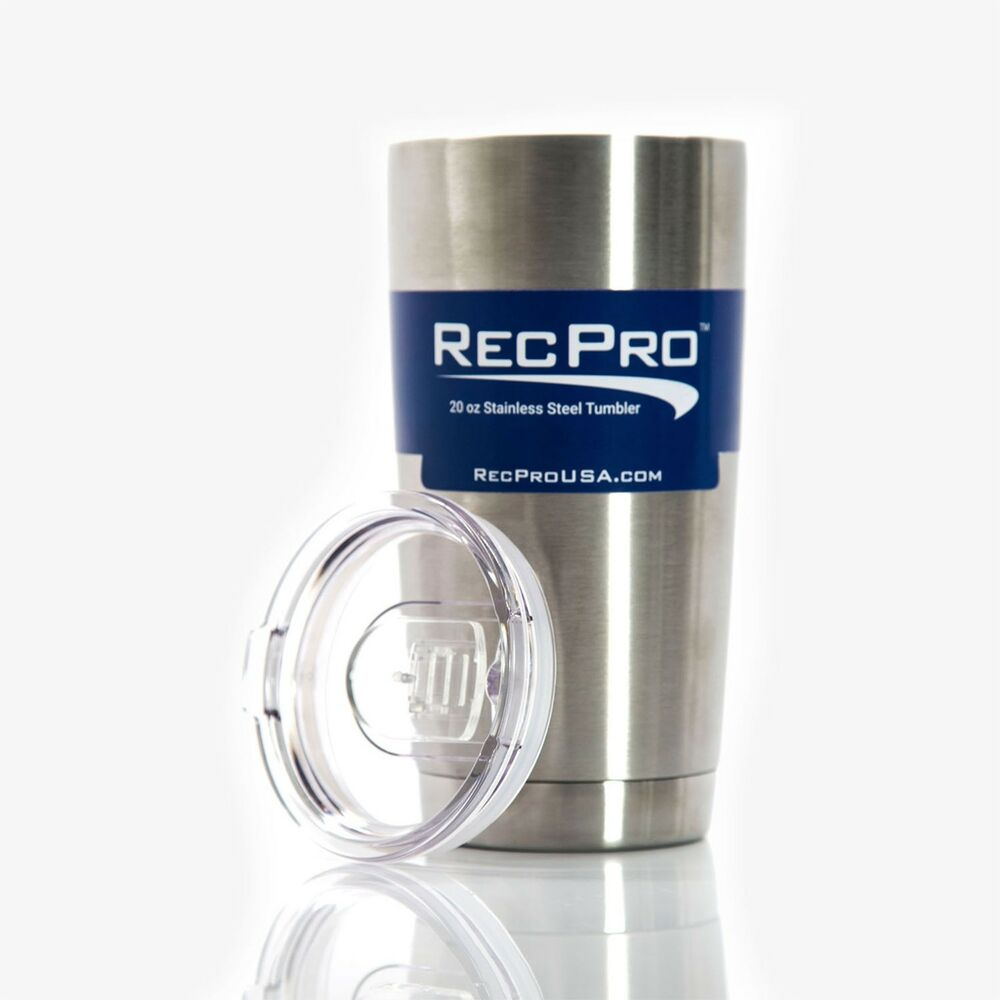 Stainless Steel Insulation : Recpro oz tumbler vacuum insulated stainless steel