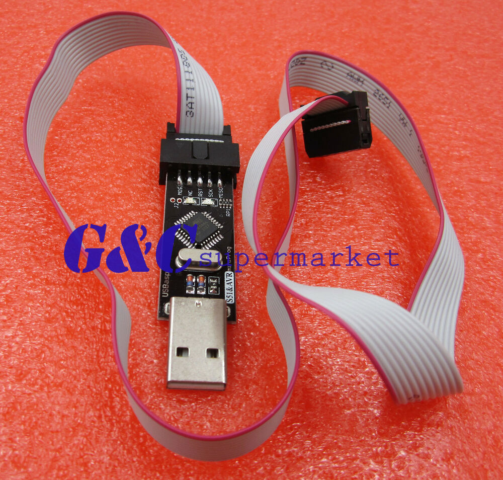 New Usbasp Usbisp Avr Programmer Usb Atmega8 Atmega128 6615136342944 Isp For Atmel With Case Reviews Ebay