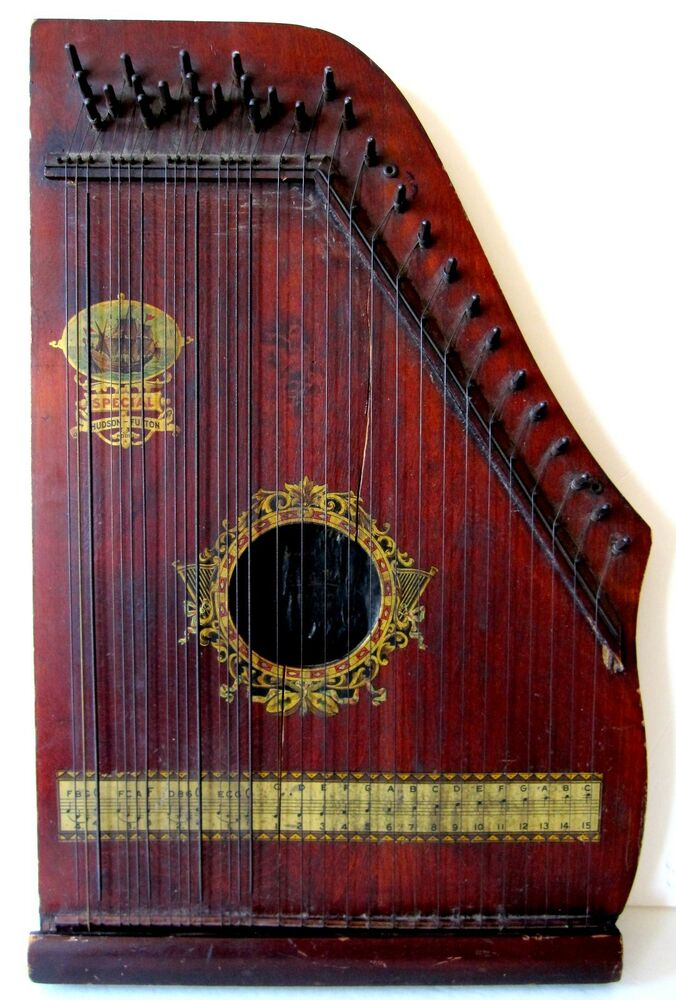 antique oscar schmidt menzenhauer no 2 guitar zither sp