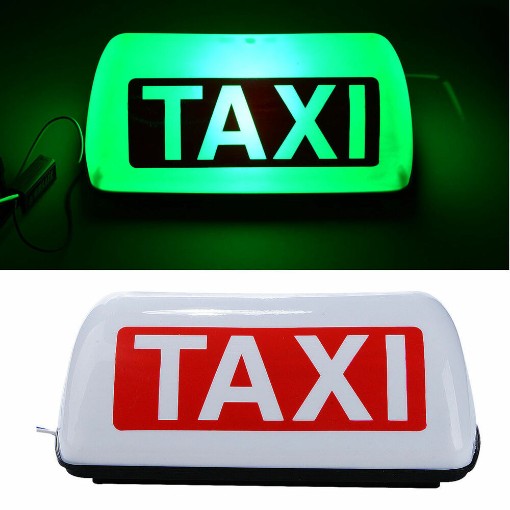 Taxi Signs – Name