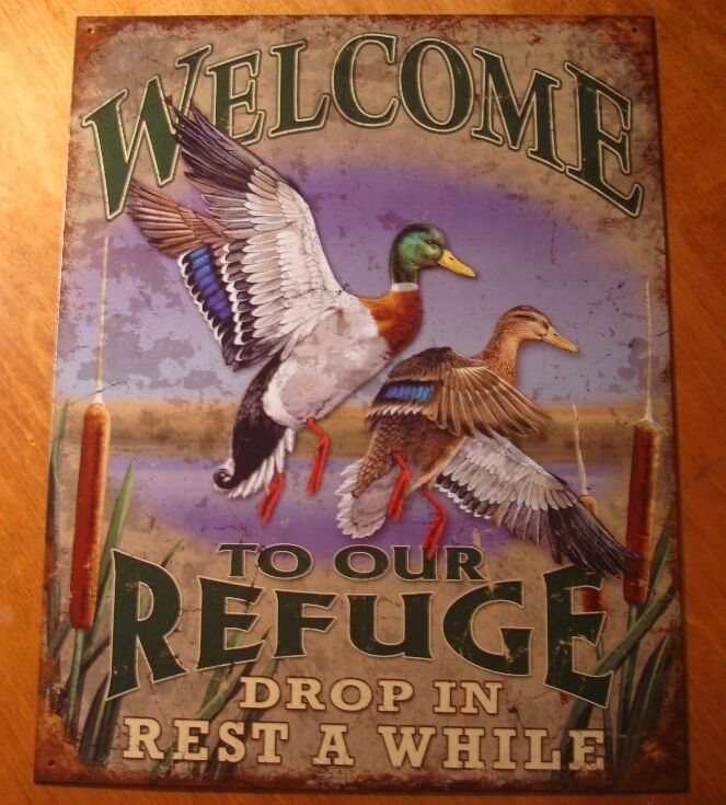 WELCOME TO OUR REFUGE DROP IN REST AWHILE Duck Lake Cabin