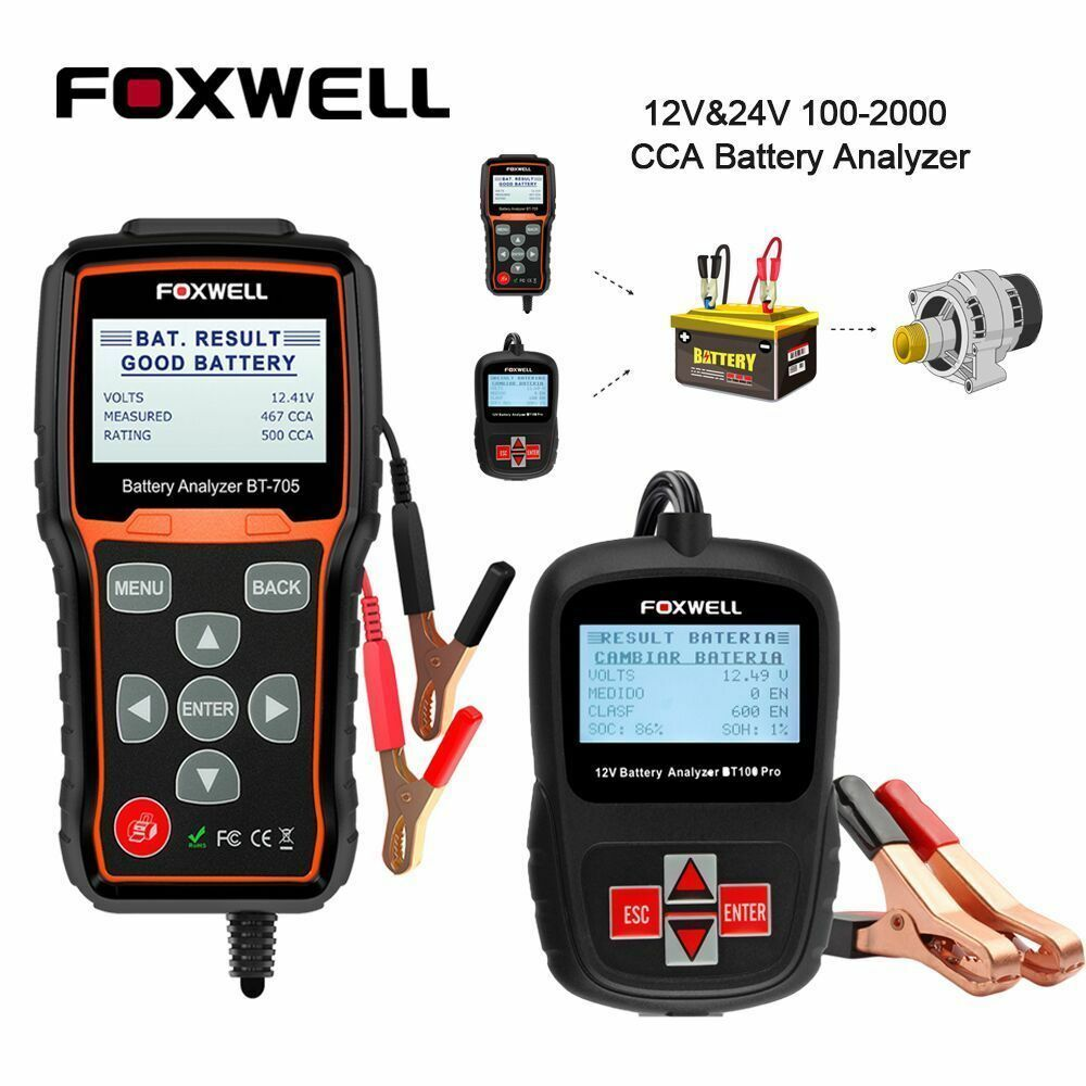 Car Battery System : V car battery system diagnostic analyzer tester tool
