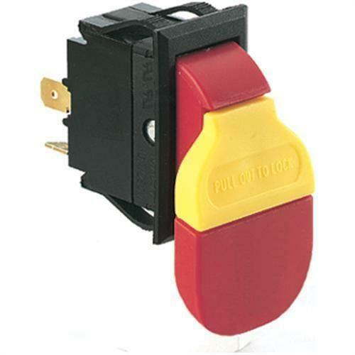 Shop fox safety paddle on off switch for volt amp