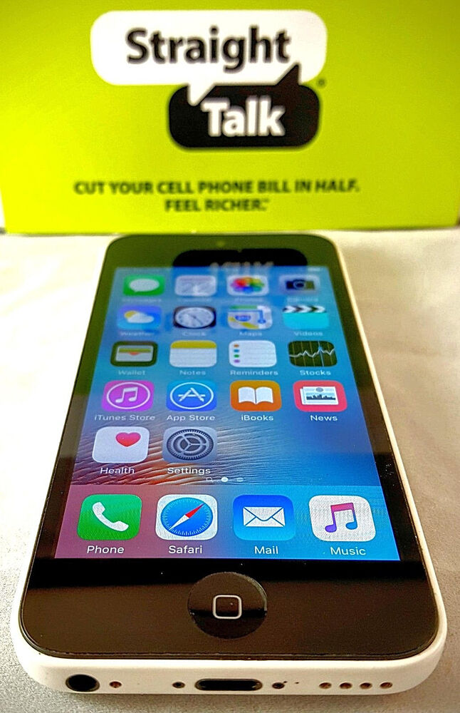 straight talk iphone 5c apple iphone 5c talk att towers 8 16 32gb 2555