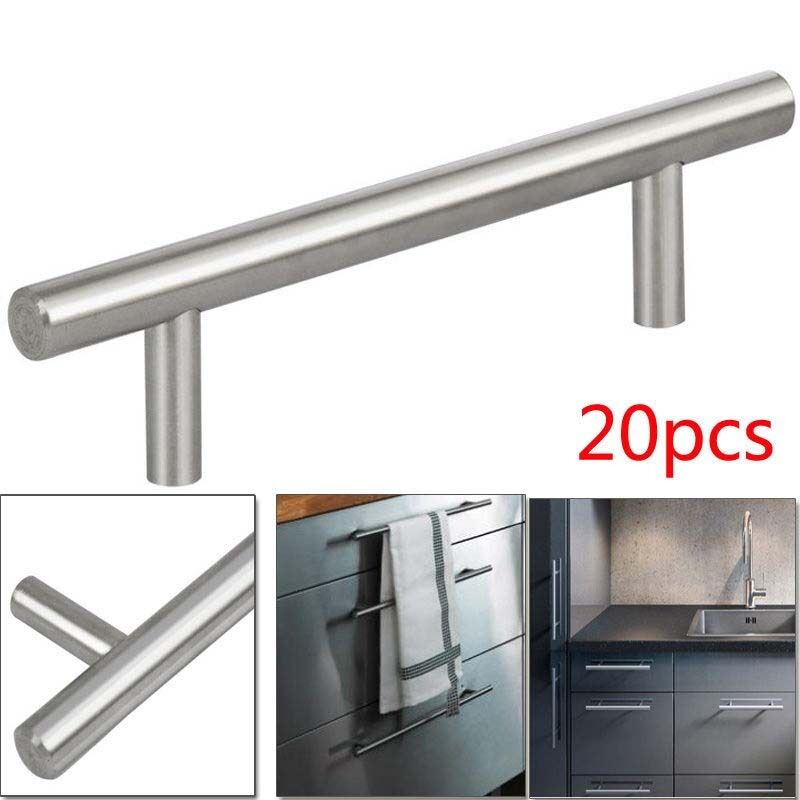 Kitchen Cabinet Pull Handles: Stainless Steel T Bar Modern Kitchen Cabinet Door Handles