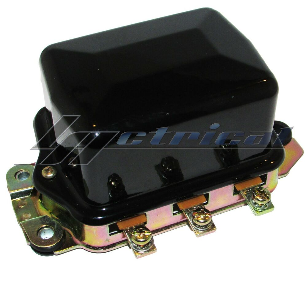 External Voltage Regulator 6 Volt A Circuit Delco Generator Fits Autolite Wiring Diagram Chevy Bel Air Ebay