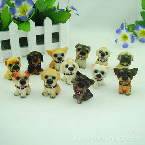 Dollhouse Miniature Doll House Dolls Resin Craftwork--12