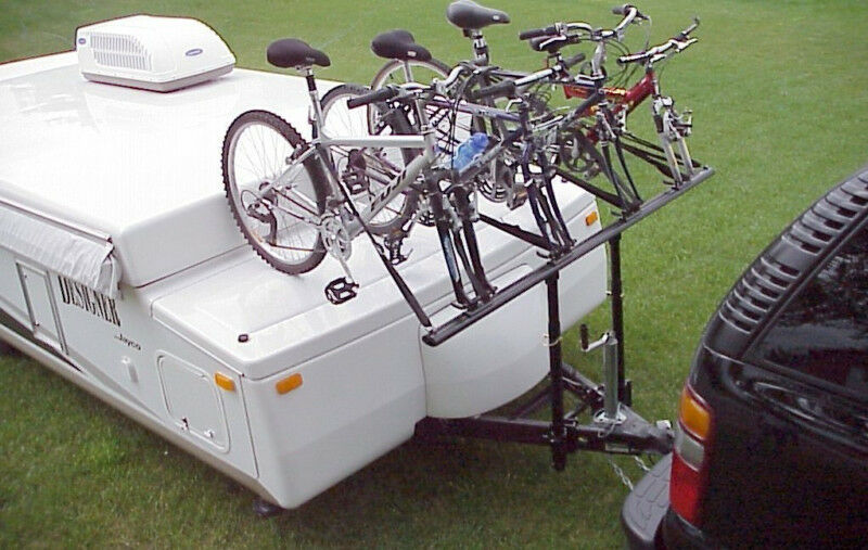 Prorac Camper Trailer 4 Bike Bicycle Carrier Rack Ebay
