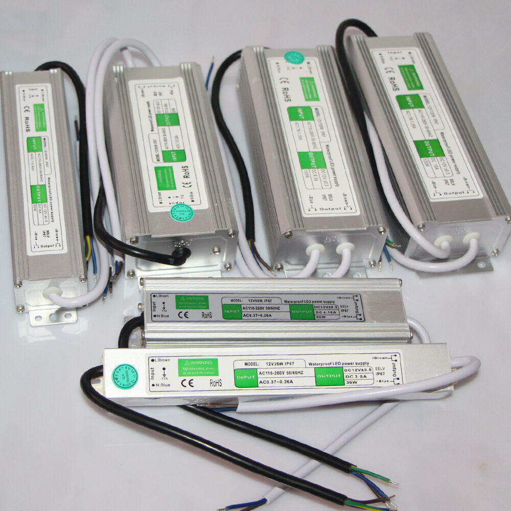 Outdoor Waterproof AC220V 110V DC12V Transformer Power