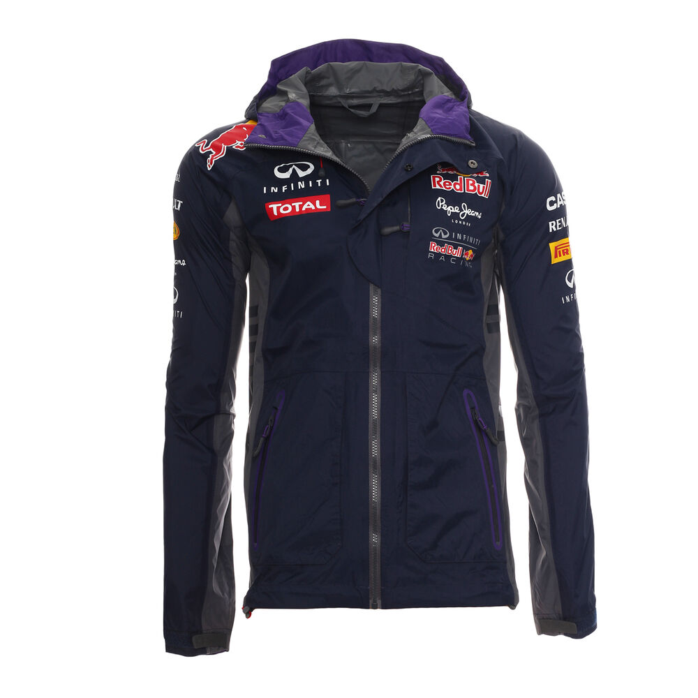 pepe jeans red bull racing herren rain jacket regen jacke. Black Bedroom Furniture Sets. Home Design Ideas