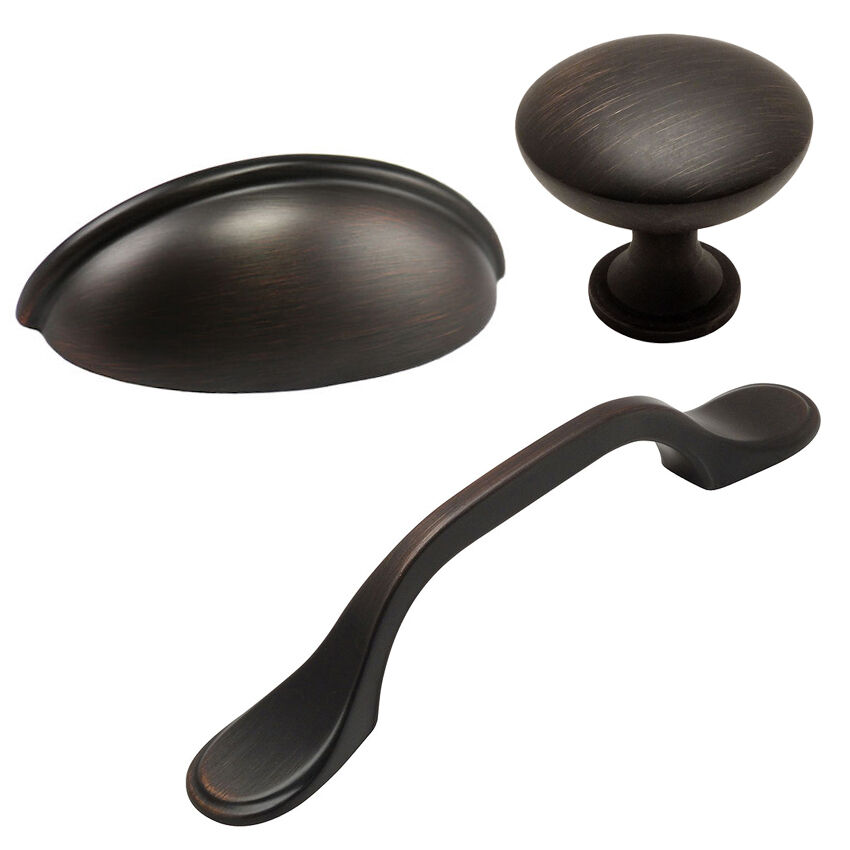 cosmas oil rubbed bronze cabinet hardware pulls knobs
