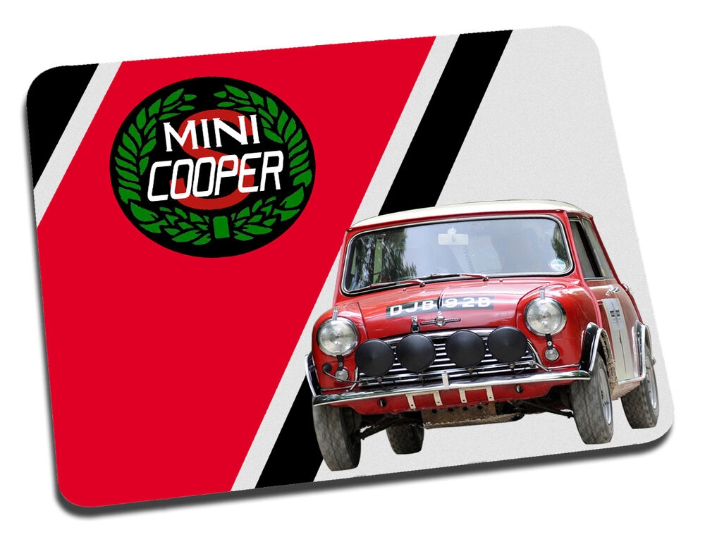 Mini Cooper S Rally Car Mouse Mat 6462936642466 | eBay