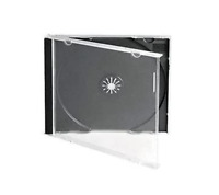 200 CD JEWEL CASES COMPLETE WITH BLACK TRAYS NEW 24HDEL