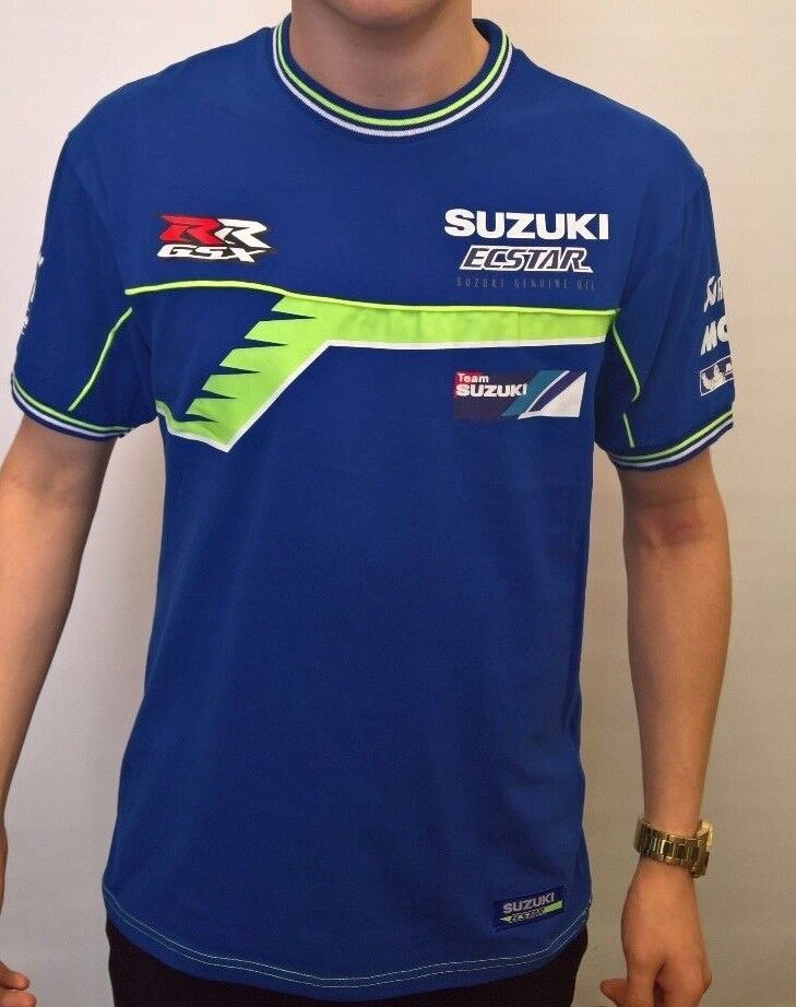 official 2016 suzuki ecstar motogp t shirt ebay. Black Bedroom Furniture Sets. Home Design Ideas