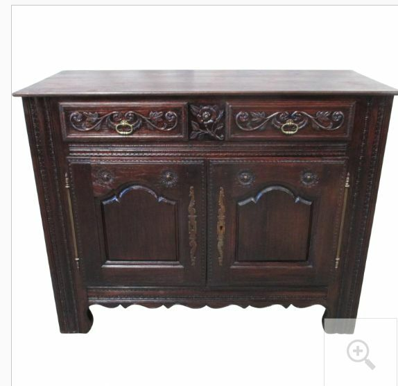French Antique Carved Sideboard Server Antique Furniture