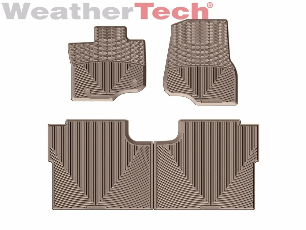 weathertech all weather floor mats for ford f 150 crew cab. Black Bedroom Furniture Sets. Home Design Ideas