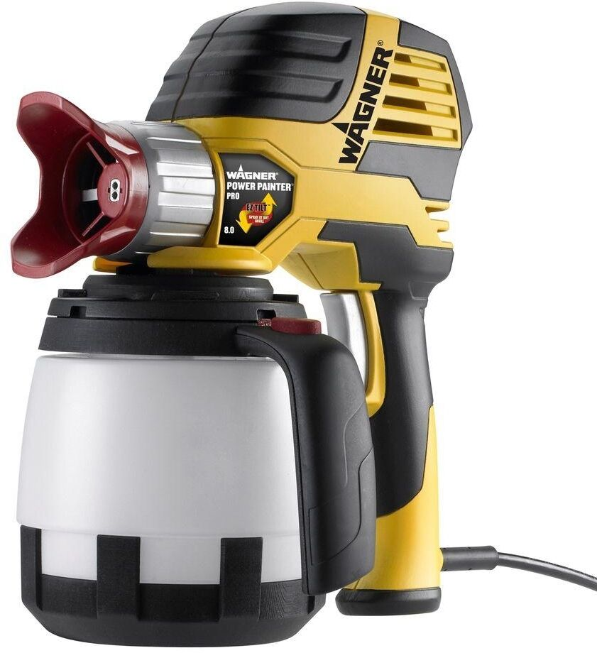 new wagner pro airless hand held paint sprayer electric