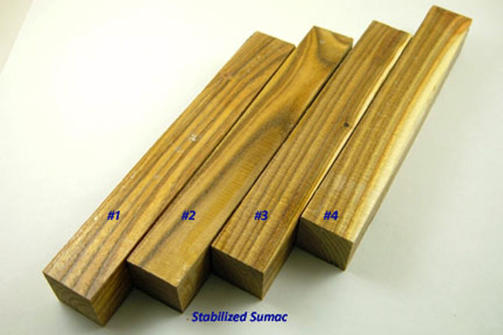 Stabilized Sumac Pen Blanks Ebay