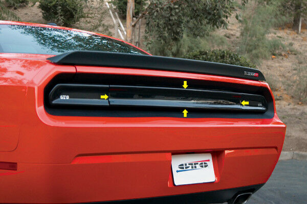2008 2014 challenger gts smoke acrylic taillight center. Black Bedroom Furniture Sets. Home Design Ideas