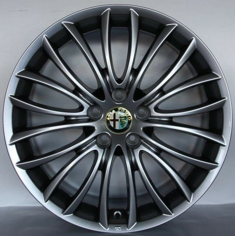 ALFA ROMEO GIULIETTA WHEELS 18 ORIGINAL NEW RIMS DARK