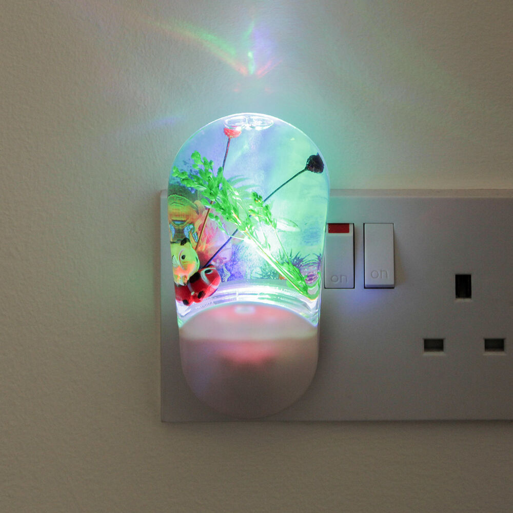 Children 39 s indoor bedroom colour projector automatic plug for Bedroom night light