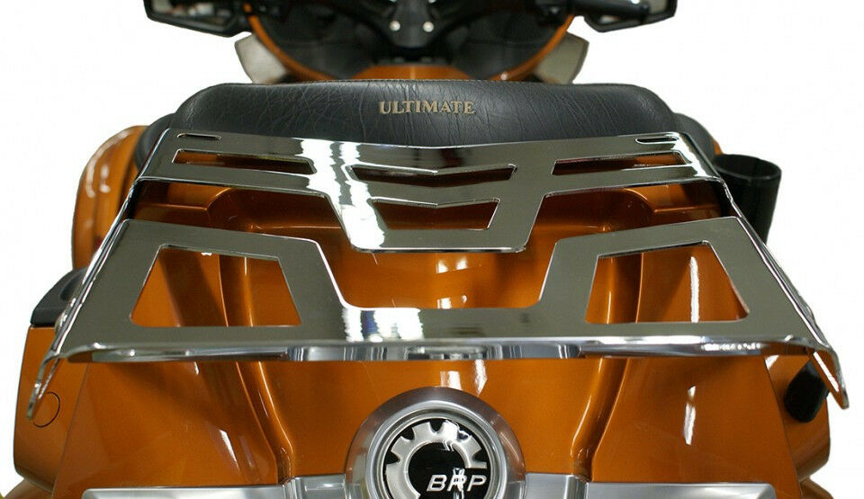 Chrome Expandable Trunk Mounted Luggage Rack For Can Am