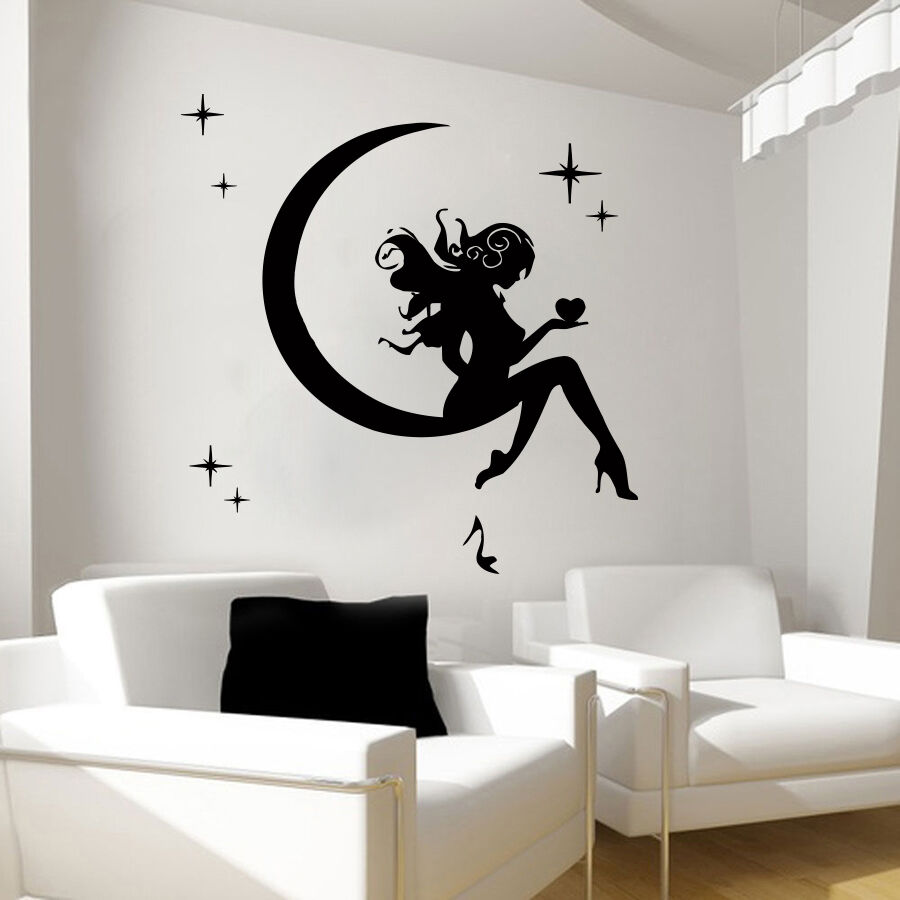 Wall Art Decals For Living Room: Wall Decals Fairy Decal Vinyl Sticker Bathroom Kitchen