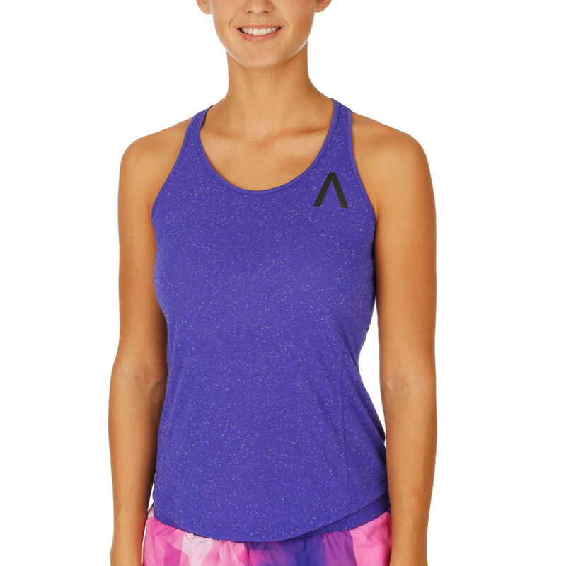 e0679e0dca8b Details about New Adidas AKTIV Gym Vest Tank Top Sleevelss T-Shirt - Purple  - Ladies Womens