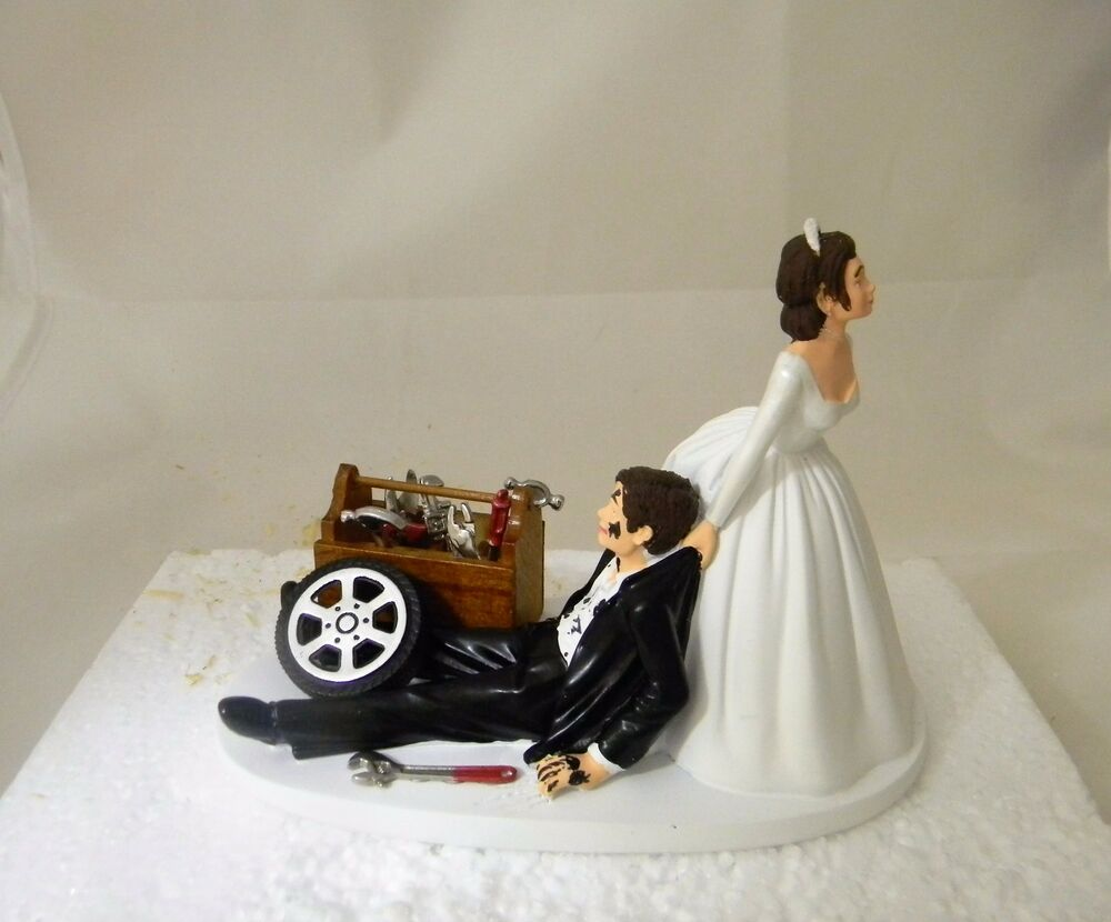 Wedding Reception Race Car Truck Mechanic Tools Grease