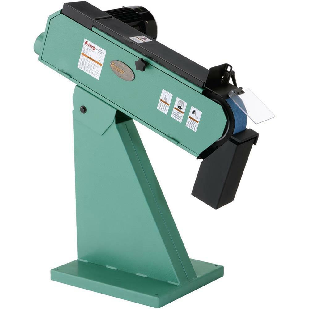G0489 Grizzly 4 Hp 220v 3 Phase Metalworking Belt Sander