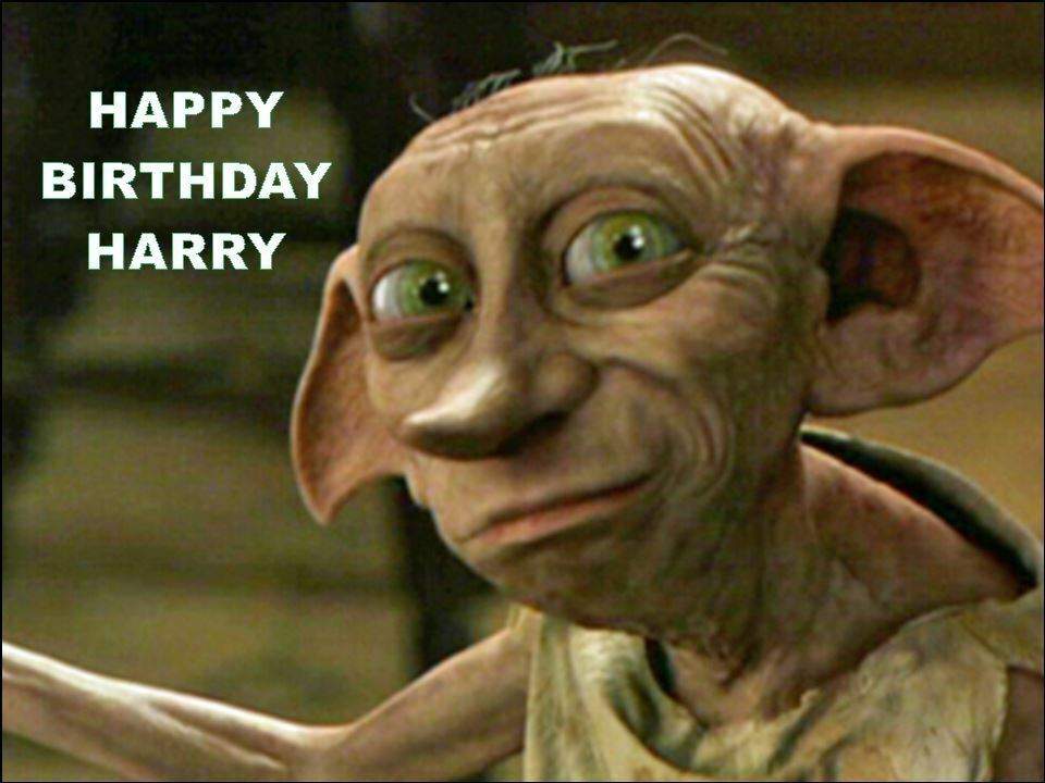 Happy Birthday Harry Cake