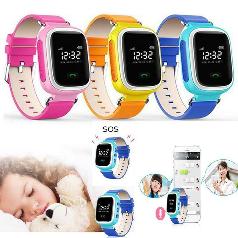hot lbs sos call children kids smart watch for android ios iphone anti lost ebay. Black Bedroom Furniture Sets. Home Design Ideas