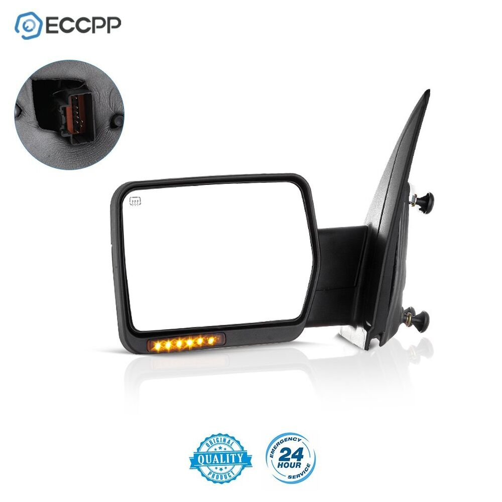 for 07 14 ford f150 left power heated led signal light. Black Bedroom Furniture Sets. Home Design Ideas