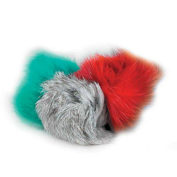 Fluffy Cat Toy Balls