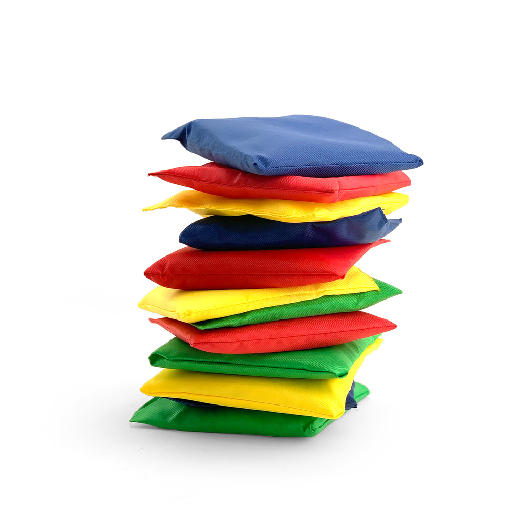 New Dozen 5 Quot Nylon Bean Bags Assorted Game Carnival