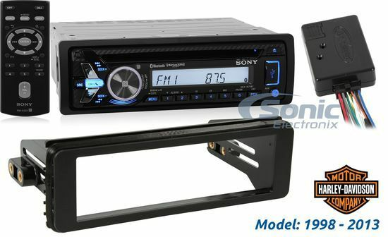 sony mex-m70bt bluetooth stereo & installation combo for ... sony aftermarket radio wiring