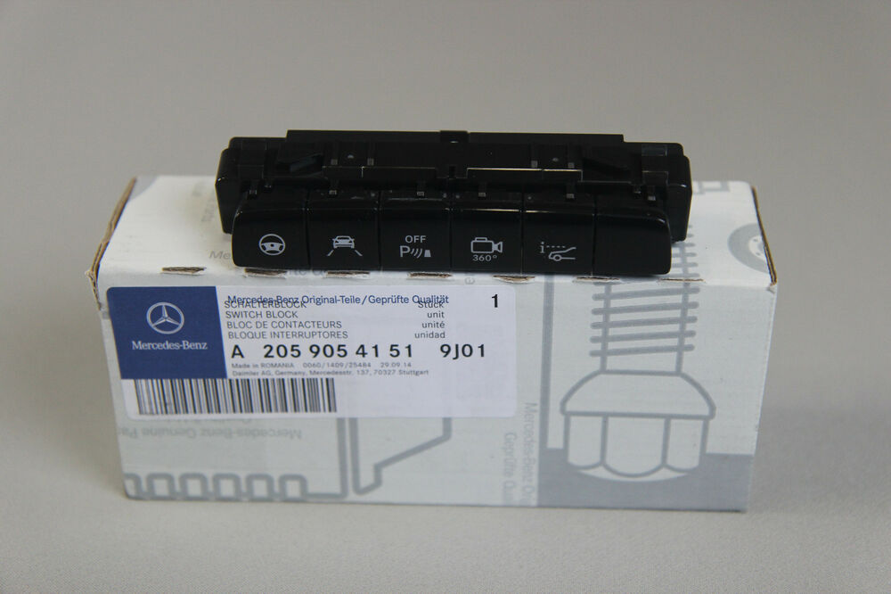 New Genuine Mercedes Driver Assistance Control Switch C