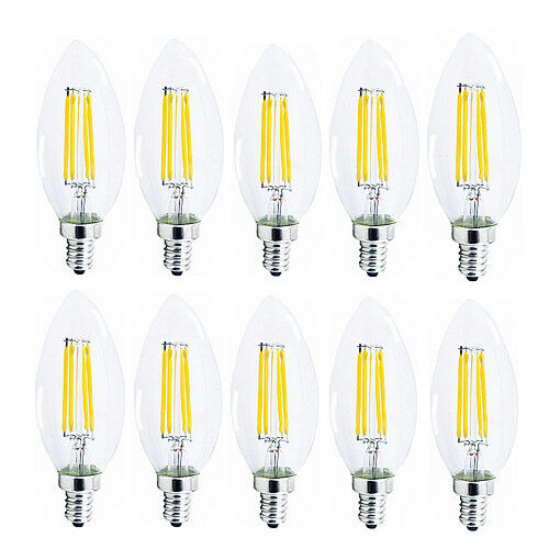 e12 e14 2w 4w 6w dimmable edison filament bulb led light. Black Bedroom Furniture Sets. Home Design Ideas