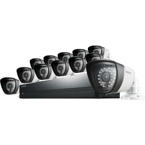 samsung sds p5122 12 camera 16 channel dvr video security system ebay. Black Bedroom Furniture Sets. Home Design Ideas