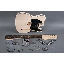 NEW 12 STRING TELE STYLE DIY ELECTRIC GUITAR LUTHIER PROJECT BUILDER KIT