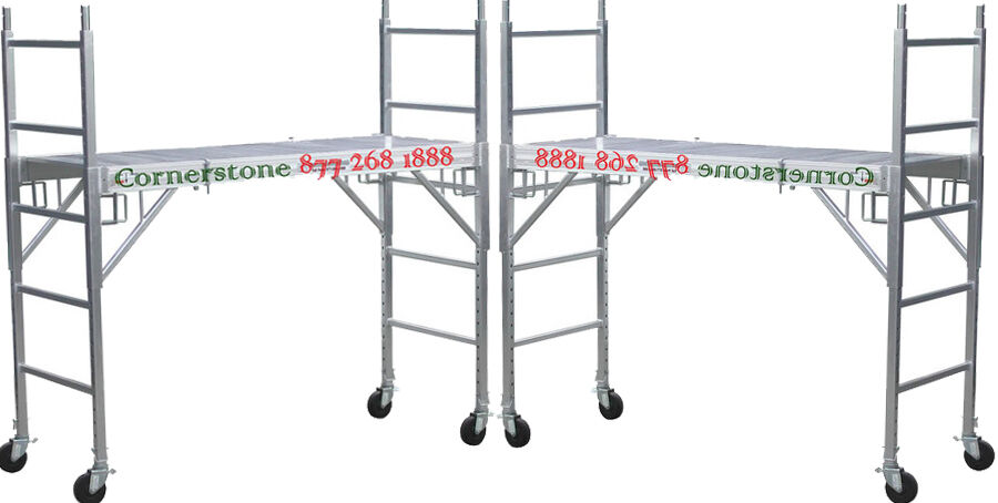 Aluminum Rolling Scaffold : Cbm new aluminum scaffold rolling towers with all