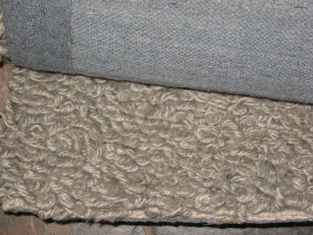 Pottery Barn Pb Teen Marled Shag Gray 2x3 Rug New Ebay